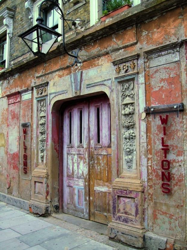 Wilton's theater ingang