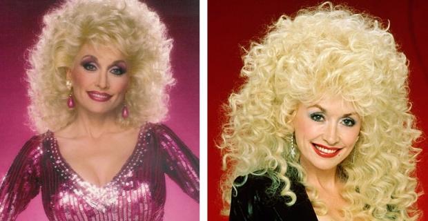 Dolly Parton groot haar