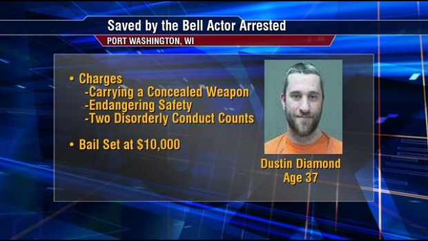Dustin Diamond arrestatie