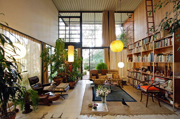 Eames-huis-binnen