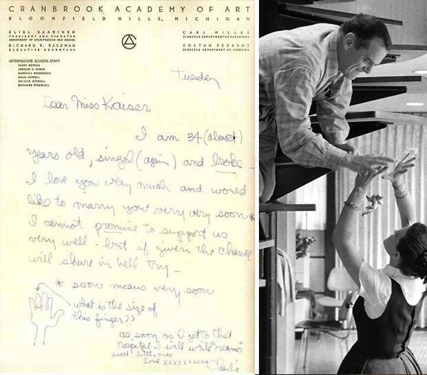 Eames-liefdesbrief