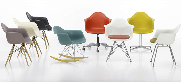 Eames-stoel-gedaanten