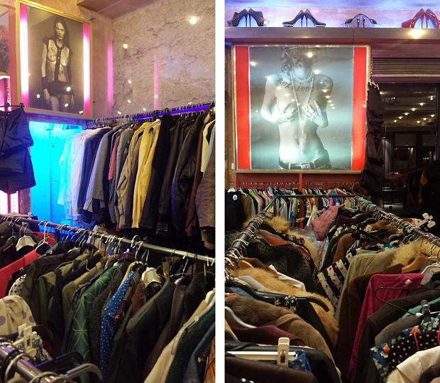 Freepstar winkel vintage kleding