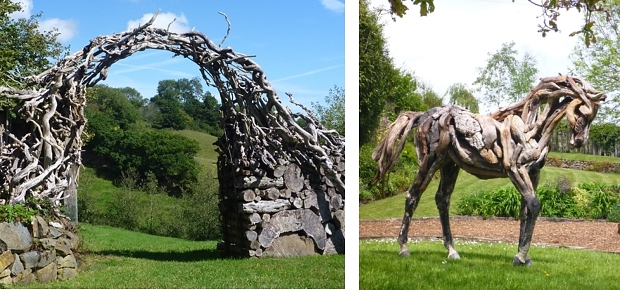 Heather Jansch ingang paardentuin