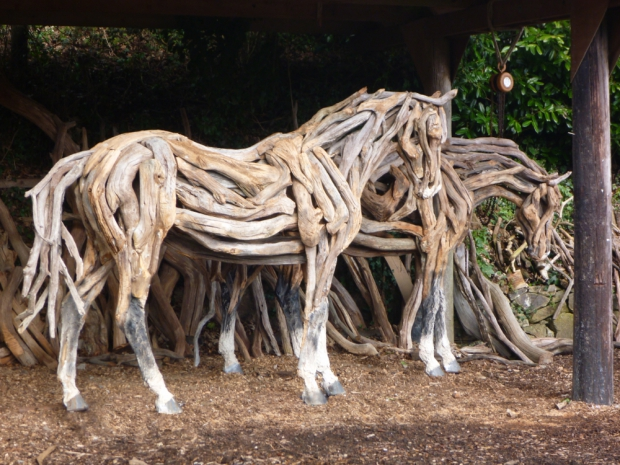 Heather Jansch stal paarden