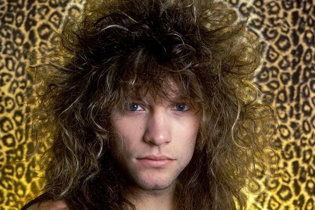 Jon Bon Jovi groot haar