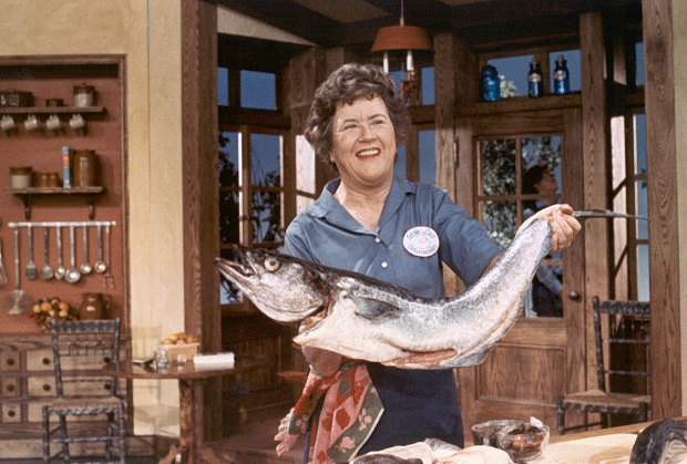 Julia Child vis