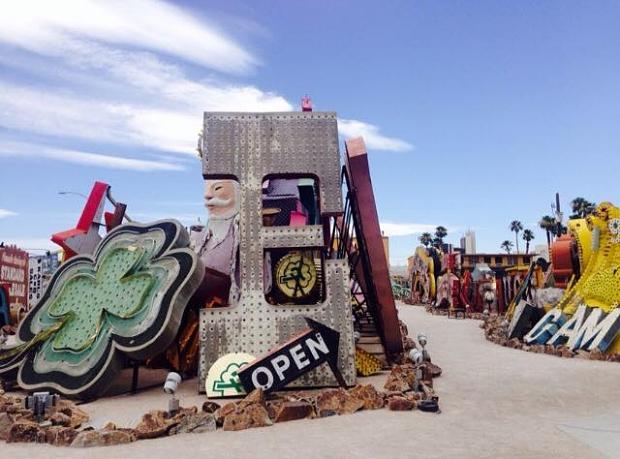 Neon Museum Las Vegas terrein