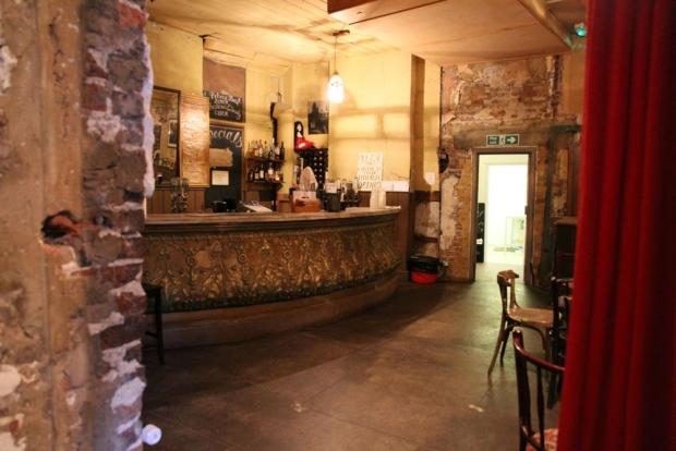 Wilton's Mahogany Bar