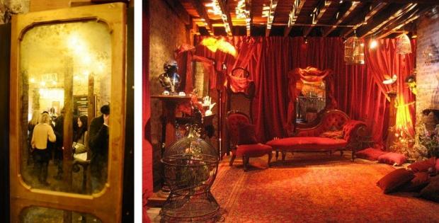 Wilton's theater boudoir Londen