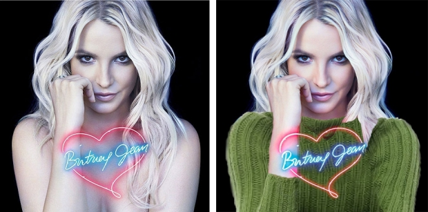 Britney Spears Britney Jean censuur