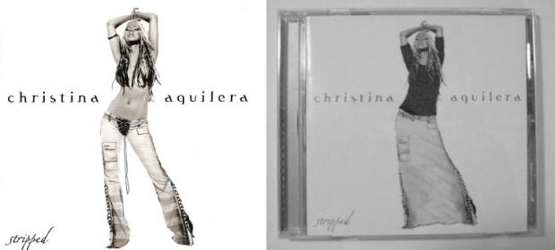 Christina Aguilera Stripped censuur