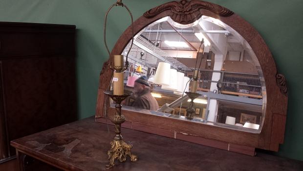 Emmaus Bilthoven antieke spiegel
