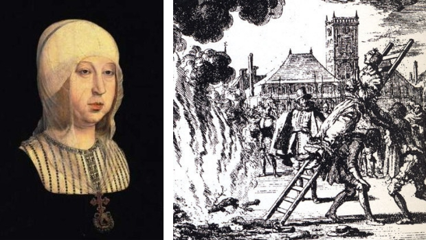 Isabella brandstapel