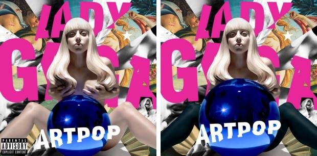 Lady Gaga censuur artpop