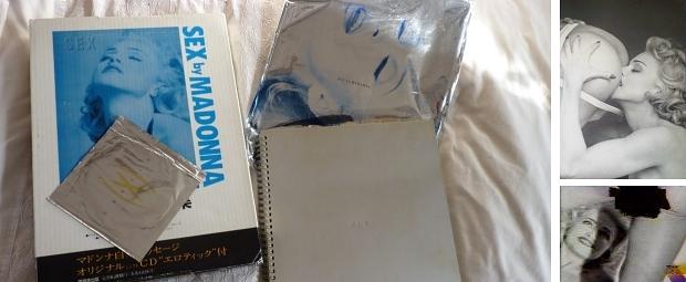 Madonna Sex boek Japan