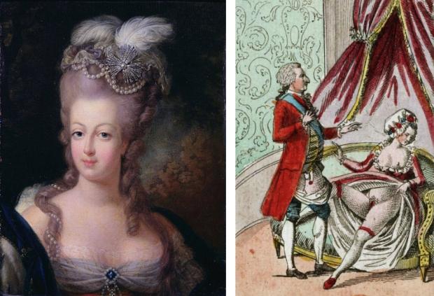 Marie-Antoinette stinken