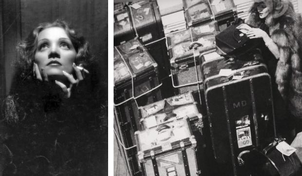 Marlene Dietrich op reis