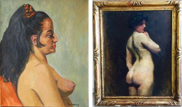 Naaktschilderijen vrouwen