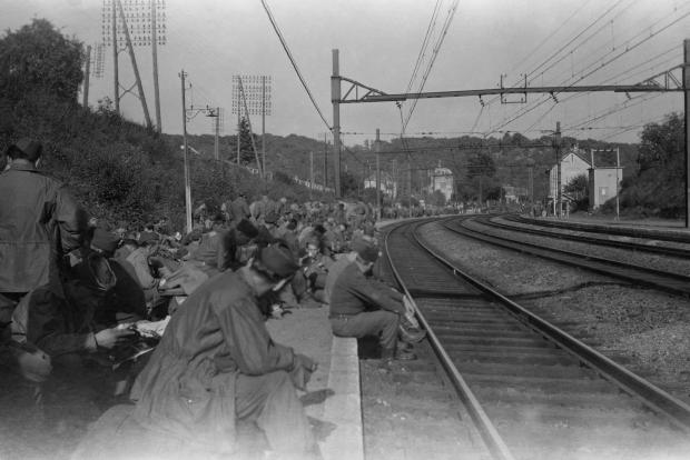 Rescued Film Project Tweede Wereldoorlog trein