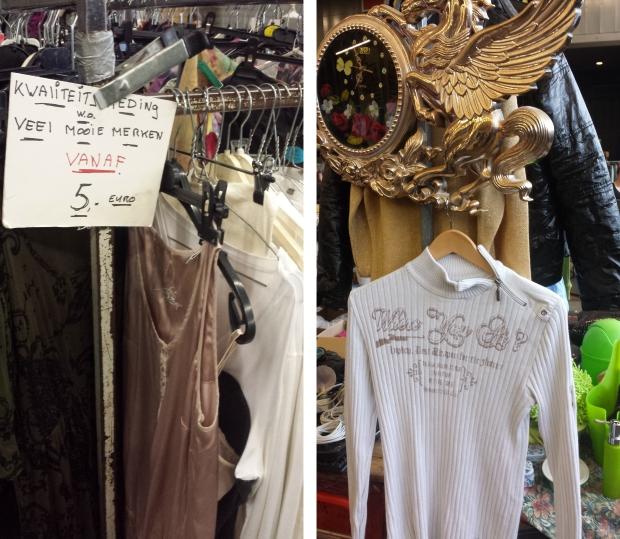 Rommelmarkt Ahoy kleding troep