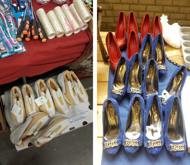 Rommelmarkt Ahoy schoenen