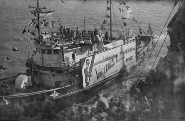 The Rescued Film Project schip Tweede Wereldoorlog