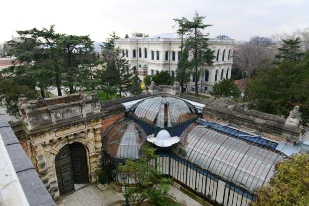 Yildiz Paleis Istanbul tuinen