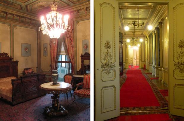 Yildiz paleis gangen en slaapkamer