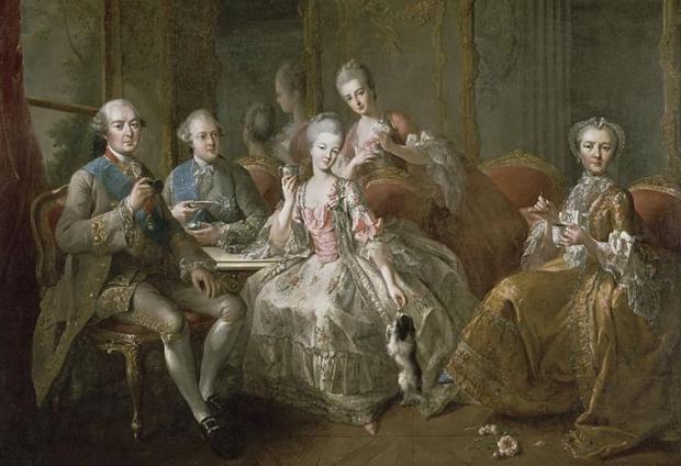 Versailles vieze stinkerds