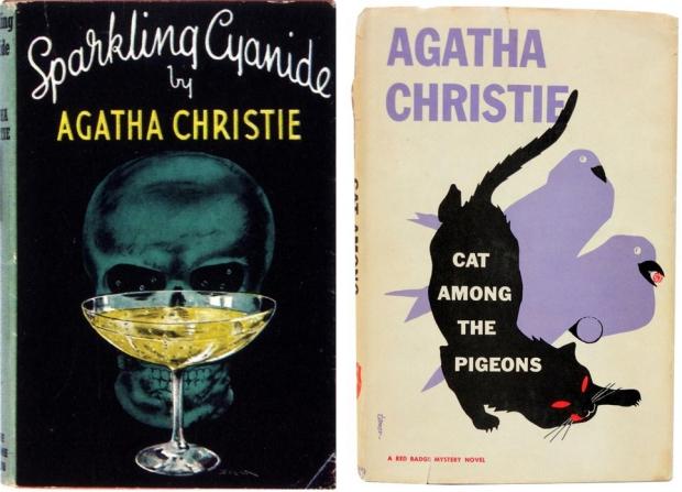 Agatha Christie boekomslagen