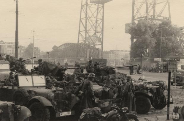 De Aanval Duitse troepen bij Stieltjesplein
