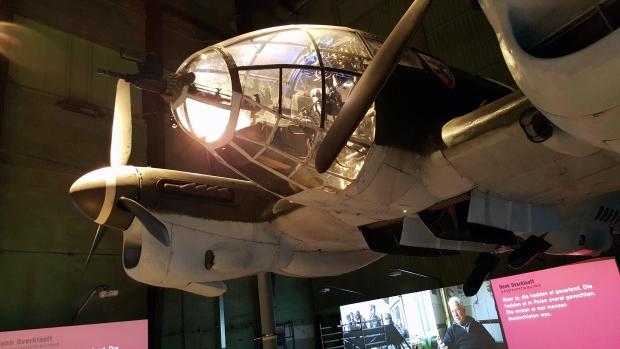 De Aanval Heinkel in tentoonstelling