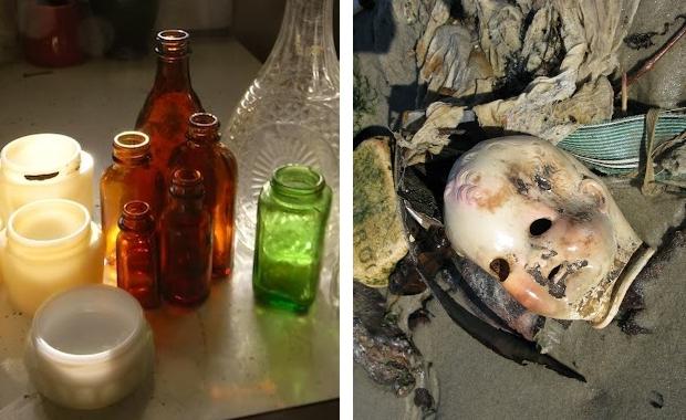 Dead Horse Bay flessen en pop