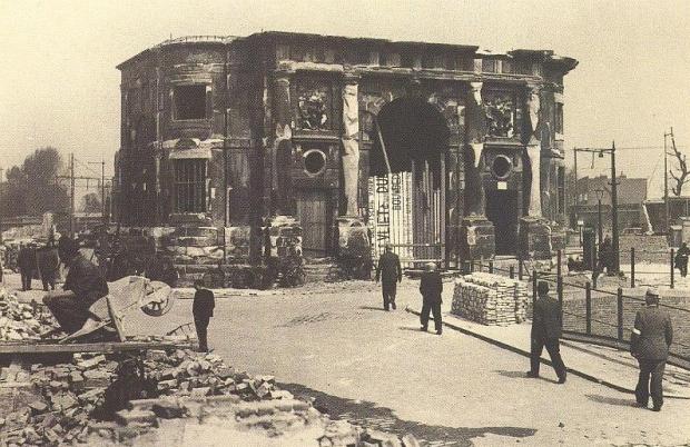 Delfste Poort ruine