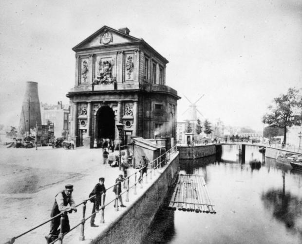 Delftse Poort Rotterdam vroeger