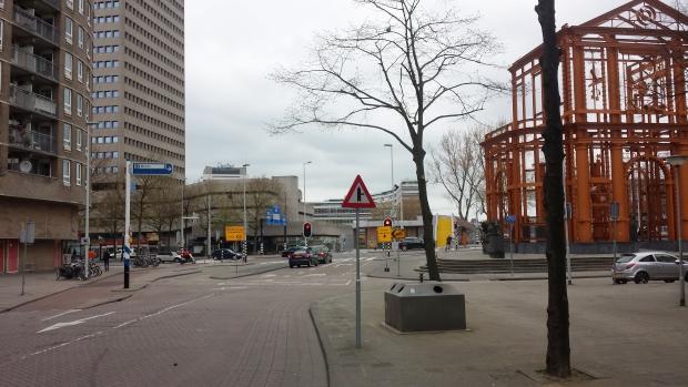 Delftse Poort nu