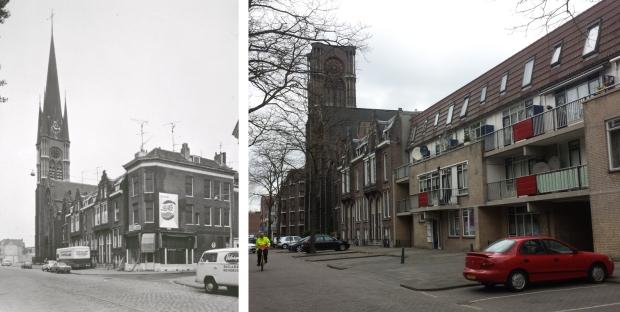 Goudse Rijweg toen en nu