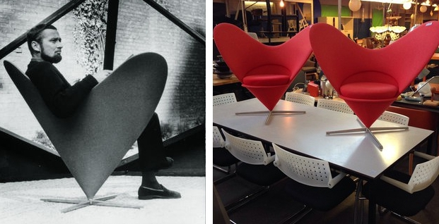 Heart Cone Chair Neef Louis Amsterdam