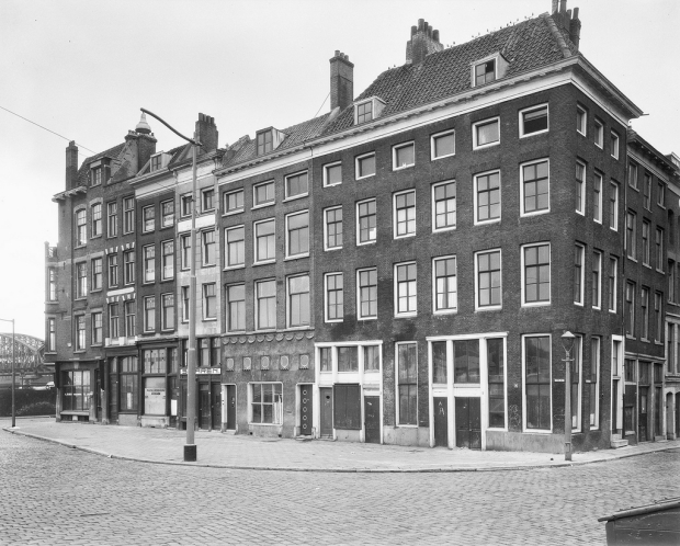 Hertekade Rotterdam vroeger