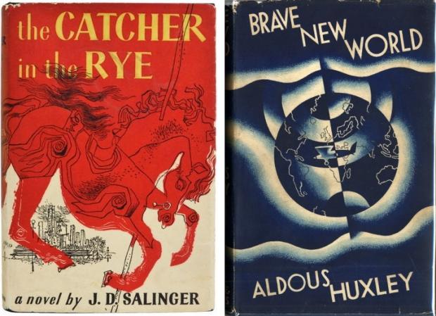 Klassieke boekomslagen Catcher in the rye