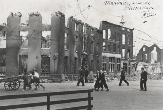 Marinierskazerne bombardement Rotterdam 2