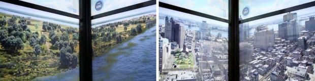 New York toen en nu
