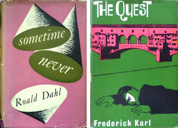 Oude boekomslag Roald Dahl