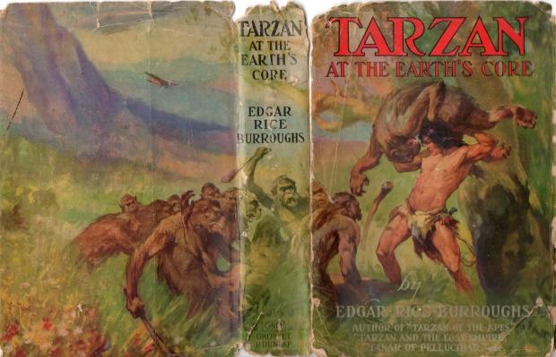 Oude boekomslag Tarzan