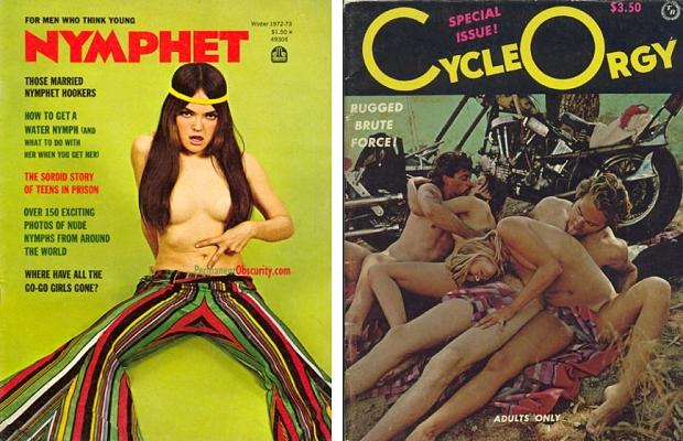 Pornoboekjes Nymphet
