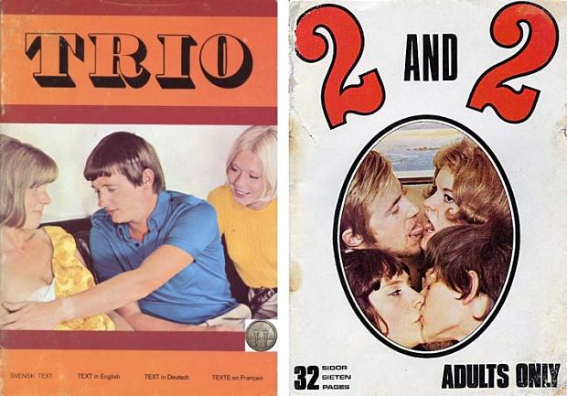 Pornoboekjes trio