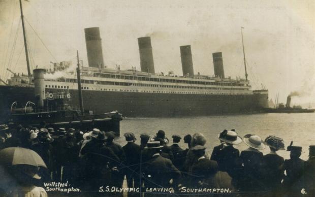 RMS Olympic Southampton