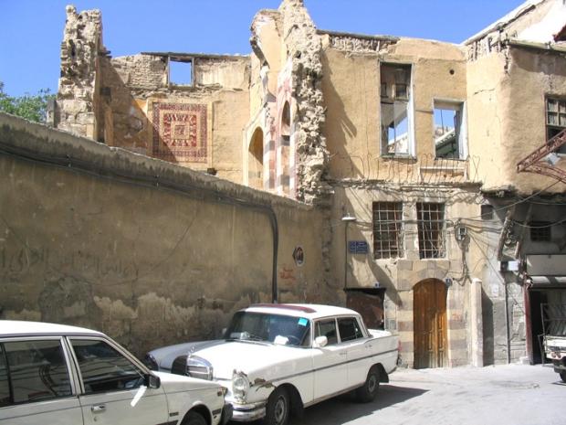 Restoring Damascus huis