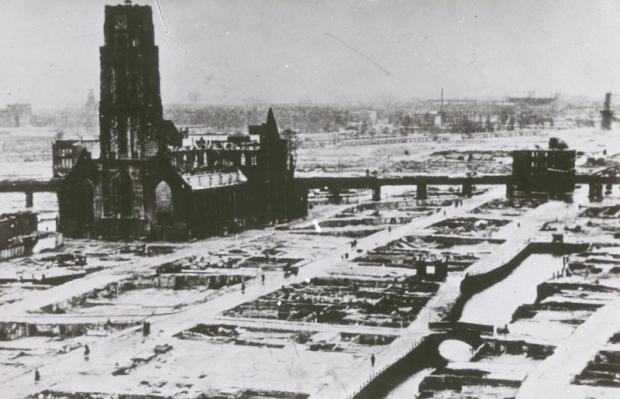 Rotterdam bombardement 1940